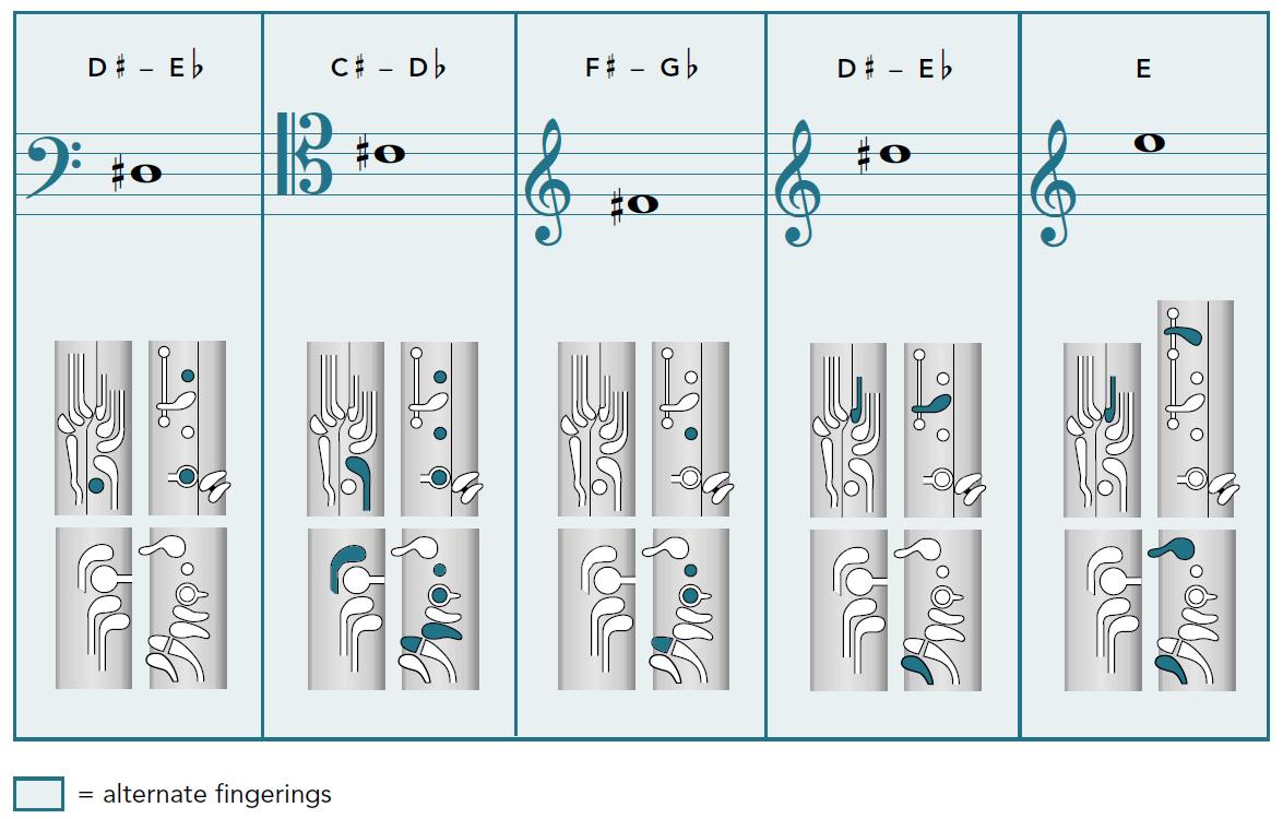 My Fingering Chart
