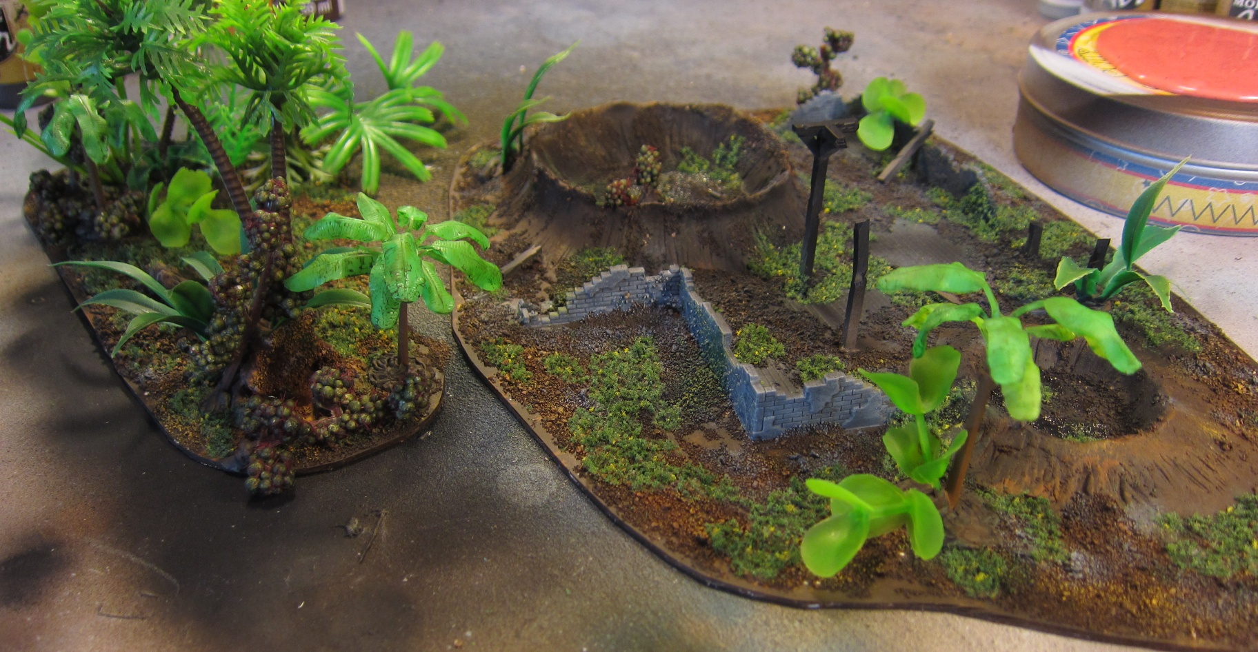 39 Jungle And Ruined Building Terrain For Warhammer 40k on ruins texture